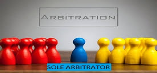 APPOINTMENT OF SOLE ARBITRATOR