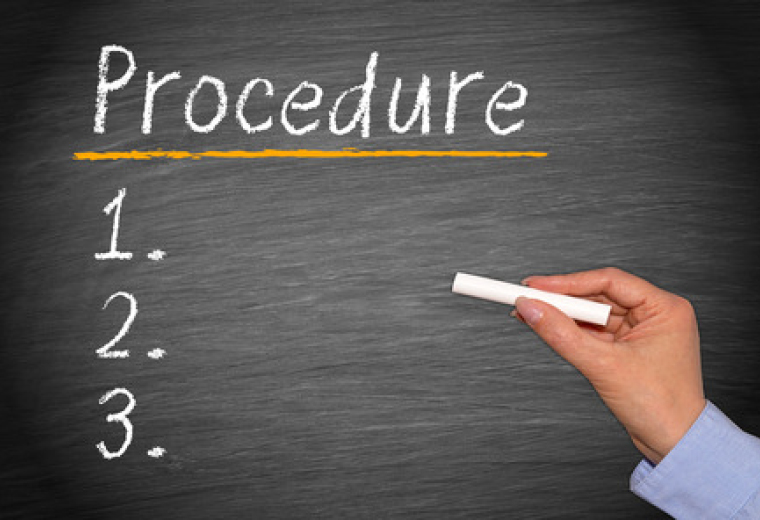 RIGHT OF PARTIES TO DEVISE PROCEDURE